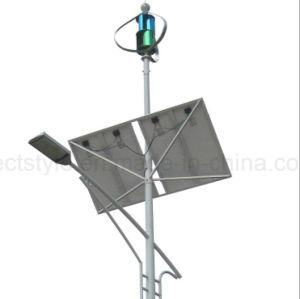 Más Barata de China de 12V 24V 500W viento generador híbrido Solar Sistema de iluminación de la calle