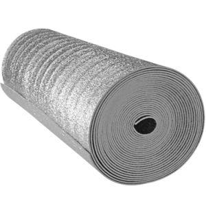 El papel de aluminio respaldado EPE Material de aislamiento térmico de espuma para la construcción de acero y metal
