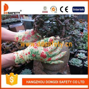 Ddsafety 2018 Blumen-Entwurfs-Beschichtung-Handschuh