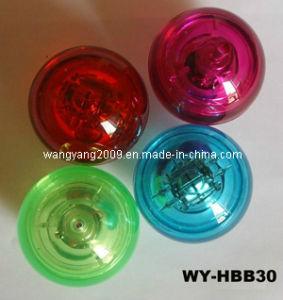 El LED parpadea sólida pelota botando (WY-HBB30).