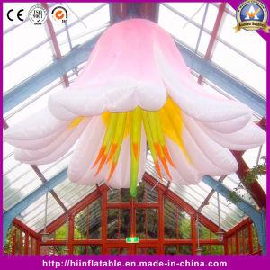 La decoración de boda flor iluminación inflable con LED de luz cambiante