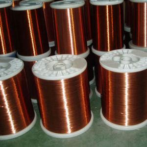Qzy/N/180-1 Poliéster (amida) (imide) ronda de alambre de cobre esmaltado