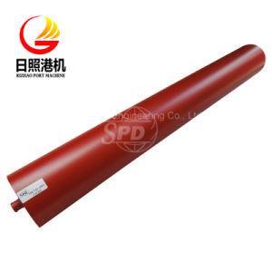 El SPD de acero de alto rendimiento a través de llevar el rodillo tensor Transportador de correa y el bastidor para planta de hormigón