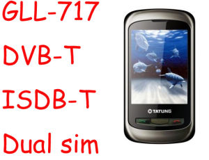 Telefono mobile di DVB-T Digitahi TV (GLL-717)