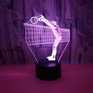 3D LEDの卓上スタンドの本ライト