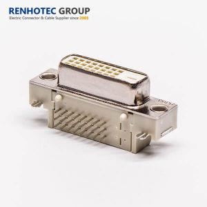 Fabrik-Preis für Verbinder der weiße Farben-Doppellink-24+1pin AR DVI
