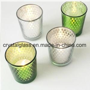 Высококачественный домашний декор свечи держатель стекла