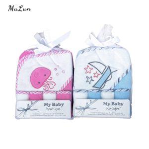 Оптовая торговля Custom Морской стиль детей полотенце одеяло с высоким качеством