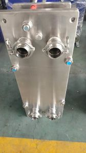 版の熱交換器のミルクのための低温殺菌