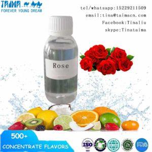 Pg/Vg ha basato il concentrato aromatico della Rosa del grado di USP per E-Liquido