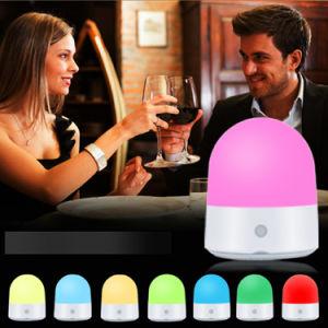 LEDの接触夜ライトUSBの機能スマートなランプ