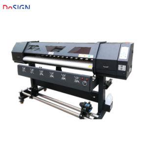 二重XP600 Dx6ヘッドが付いている普及した傾向1.8m 2.5m 3.2mデジタル・プリンタのEcoの支払能力がある印字機