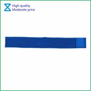 Personalizar el logotipo de alta calidad de goma PVC promocional alfombrilla para regalo de la barra de bar