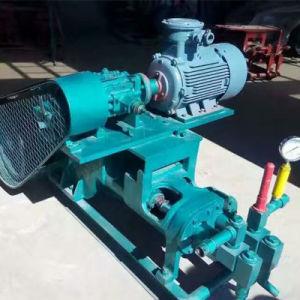 Alta pressione idraulica che riempie di malta la pompa di olio concreta per costruzione dell'interno