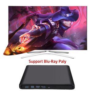 USB3.0 externes Blu Ray CD Laufwerk des Brenner-DVD für PC/Laptop/Mac
