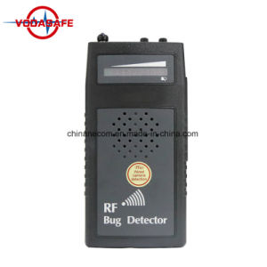 RF Bug Sweeper with Audio Verification Lens Finder Acoustic Display Signal Detector Wi-Fi Camera Detector Anti Wiretapped