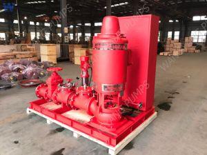 De verticale CentrifugaalPomp van de Turbine diep goed voor Brandbestrijding