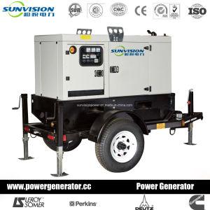 Generatore diesel certo 14kVA con il serbatoio di combustibile enorme da Kubota