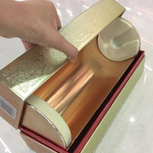 [روسّين] ذهبيّة [فودكا] شراب ورقة هبة [كنكف-كنفإكس] يعبّئ صندوق