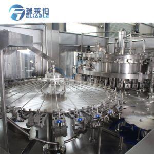 フルオートマチックの炭酸飲料のプラスチックびんのための液体の充填機