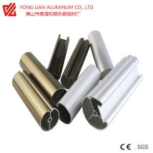 Cortina de alumínio via produzir pela tecnologia de extrusão com Electrophotetic