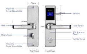 호텔 아파트를 위한 카드 문 손잡이 자물쇠