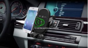 автомобильное зарядное устройство для мобильных устройств беспроводной связи, Qi беспроводной зарядки телефона Диффузор Автомобильный держатель для iPhone X, 8/8 Plus Samsung Galaxy S9/S9 и S8/S8 и S7/S7 S6 края и