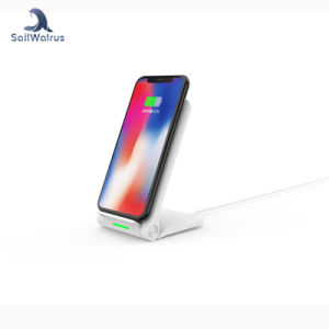 Mejores ventas fácil teniendo Qi Wireless soporte cargador para teléfono móvil