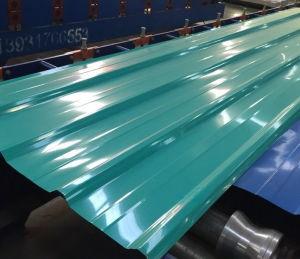 Het Trapezoïdale Blad van het Dakwerk van het Staal PPGI/de Kleurrijke Plaat van het Staal van het Metaal van de Stap