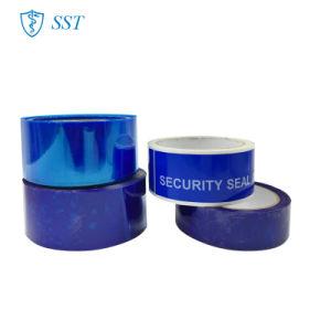 Impresa personalizada Bolsa de seguridad de la cinta para embalaje de cartón
