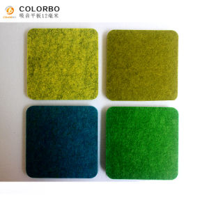 Attraktives Oberflächen-Polyester-Faser-akustisches Panel