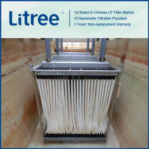 Renforcer la membrane submergée en PVC pour MBR