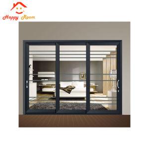 Portello di alluminio interno personalizzato di vetro del blocco per grafici