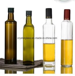 Tawny Olivenöl-Glasflasche des Umlauf-250ml 500ml 750ml