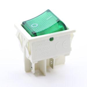 Máquina de soldadura eléctrica Impermeable IP65 25A pulsar el interruptor basculante