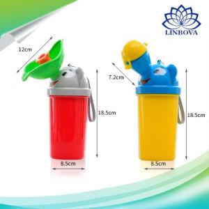 携帯用プラスチック赤ん坊の尿瓶のLeak-Proof幼児尿瓶の小型取るに足らない