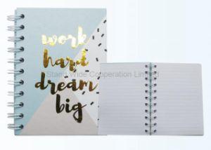 Canton Fair a6 espiral capa dura impressa Papelaria Notebook personalizado
