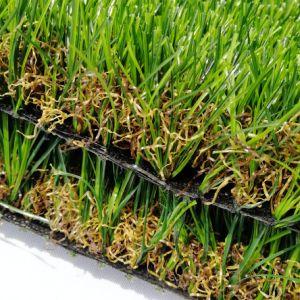 Tappeto erboso sintetico dell'erba di migliore qualità all'ingrosso per il giardino