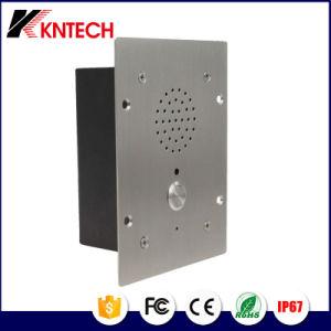 Вандалозащищенная металлические кнопки аварийного Knzd-11 телефона hands-free