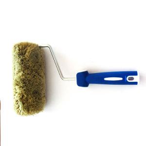 Handvat van de Vezel van het polyamide het Rubber Plastic voor de Borstel van de Rol van de Verf