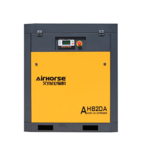 La haute pression 15 bars faible bruit 15kw, 20HP compresseur à air à vis pour le métal Machine de découpe laser