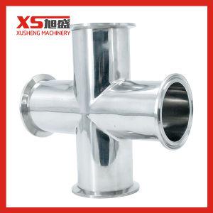 3A Medidas Sanitárias Stainles Steel Cruz Tri-Clamp