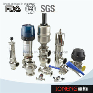 China de acero inoxidable de grado alimentario higiénico sanitarias, la válvula de bola válvula de diafragma, válvula de retención, la válvula de mariposa (JN-1006)