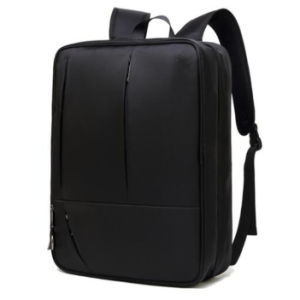 Calculador de Nylon cinza mochila Saco para computador portátil para viagens