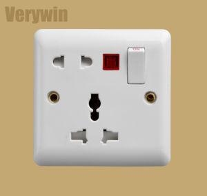 벽면 소켓 영국 표준 스위치 소켓 전기 스위치 F417