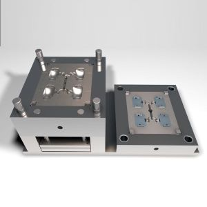 Adaptado de moldeo por inyección de plástico de pared gruesa/molde/moldura para el moldeo de iluminación automática