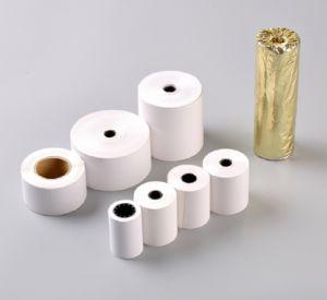 En los pequeños rollos de papel térmico utilizado como ingresos en los bancos, tiendas, restaurante, el transporte