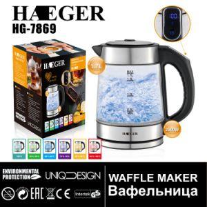 Китай чай горячей воды элемента из стекла электрический чайник с различными светодиодный индикатор