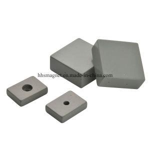 Постоянный металлокерамические жесткий ферритовый магнит блока цилиндров