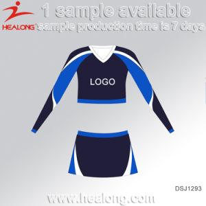 Di Healong del poliestere tintura 100% completamente sublimata più l'uniforme di Cheerleading di formato